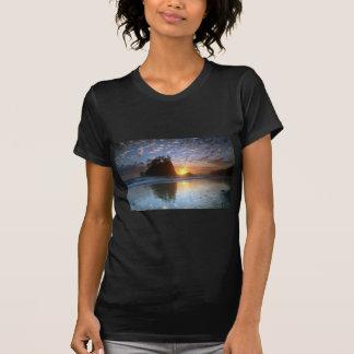 Second Beach, La push, sunset, T-Shirt