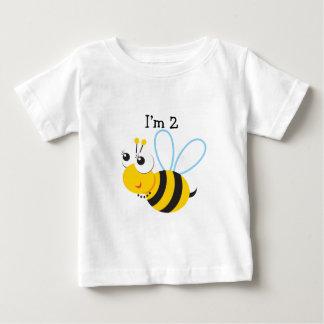 second+birthday+baby+boy, second+birthday+baby+gir baby T-Shirt