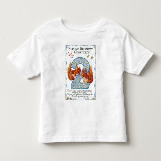 Second Birthday Greetings Toddler T-shirt