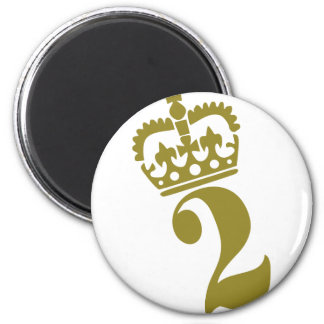 Second Birthday - Number – 2 Magnet