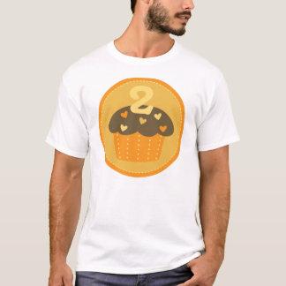 Second Birthday One Cupcake Kids T-shirt