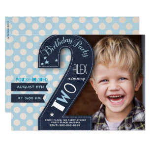 Second birthday invitations zazzle second birthday party invitation boy chalkboard filmwisefo