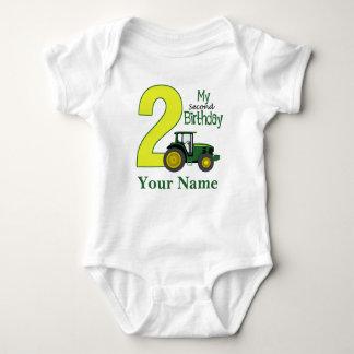 Second Birthday Personalized Baby Bodysuit