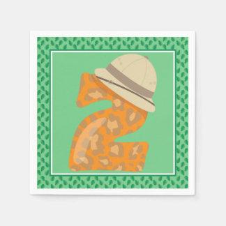 Second Birthday | Safari Paper Napkin