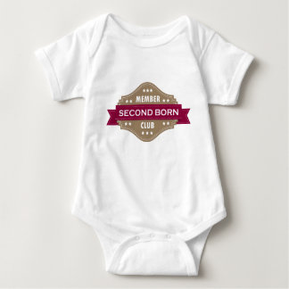 Second Born Club Baby Bodysuit