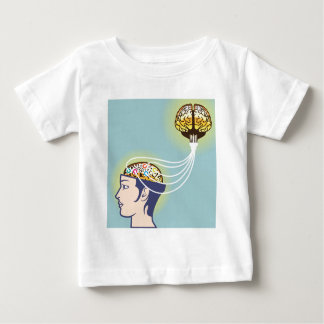Second Brain Connected Illustration Baby T-Shirt