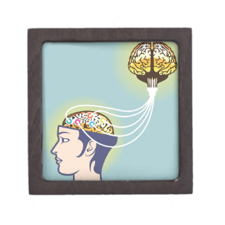 Second Brain Connected Illustration Gift Box