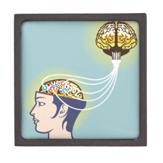 Second Brain Connected Illustration Jewelry Box