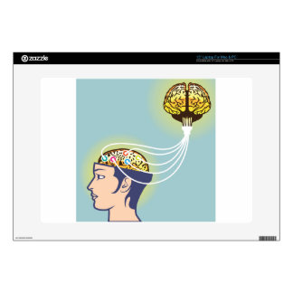Second Brain Connected Illustration Laptop Skins