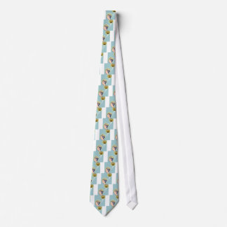 Second Brain Connected Illustration Neck Tie