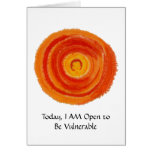Second Chakra- #2 - Express Needs - Desires Greeting Card