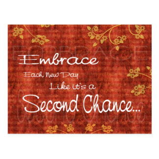 Second Chance Postcard