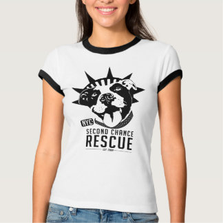 Second Chance Rescue BLK Logo T-Shirt