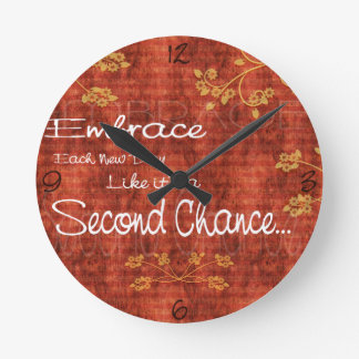 Second Chance Small Wall Clock