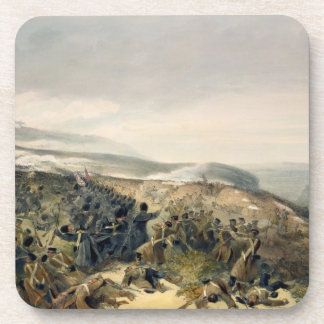 Second Charge of the Guards at Inkerman, 5th Novem Beverage Coaster