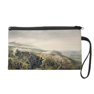 Second Charge of the Guards at Inkerman, 5th Novem Wristlet Purse