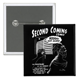 Second Coming Comix 1c Pinback Button