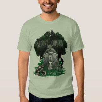 Second Coming - Right Place Wrong Time T-shirt