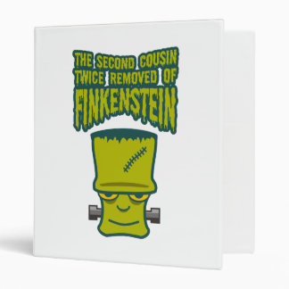 Second Cousin Twice Removed of Finklestein 3 Ring Binder