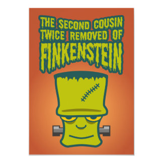 Second Cousin Twice Removed of Finklestein Card