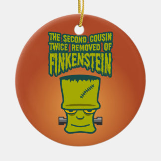Second Cousin Twice Removed of Finklestein Ceramic Ornament