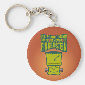 Second Cousin Twice Removed of Finklestein Keychain
