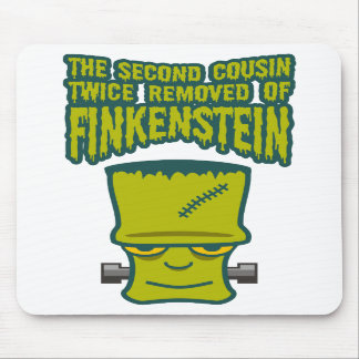 Second Cousin Twice Removed of Finklestein Mousepads