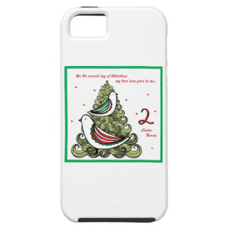 Second Day of Christmas iPhone SE/5/5s Case