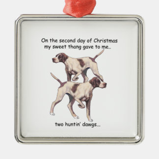 Second Day Redneck Christmas Ornaments
