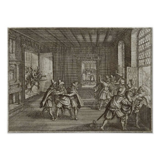 Second Defenestration of Prague Print