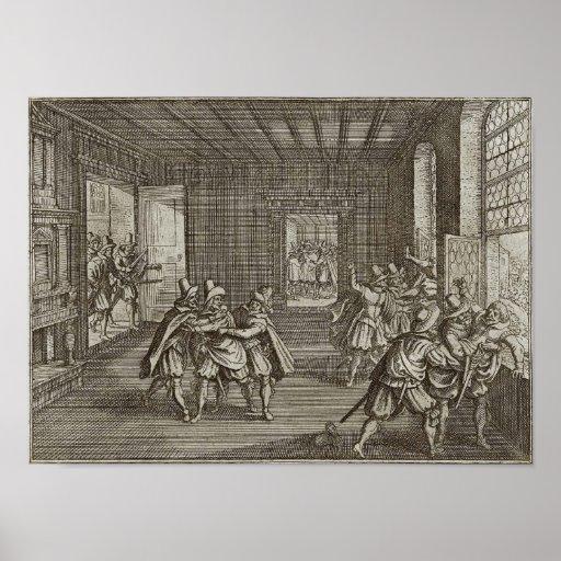Second Defenestration of Prague Poster