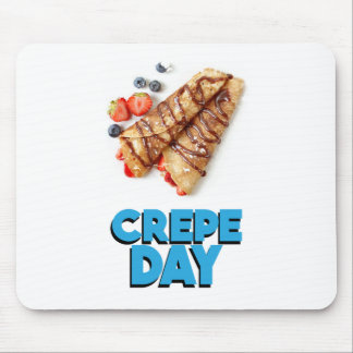 Second February - Crepe Day - Appreciation Day Mouse Pad