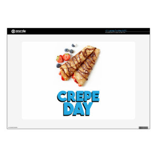 Second February - Crepe Day - Appreciation Day Skin For Laptop