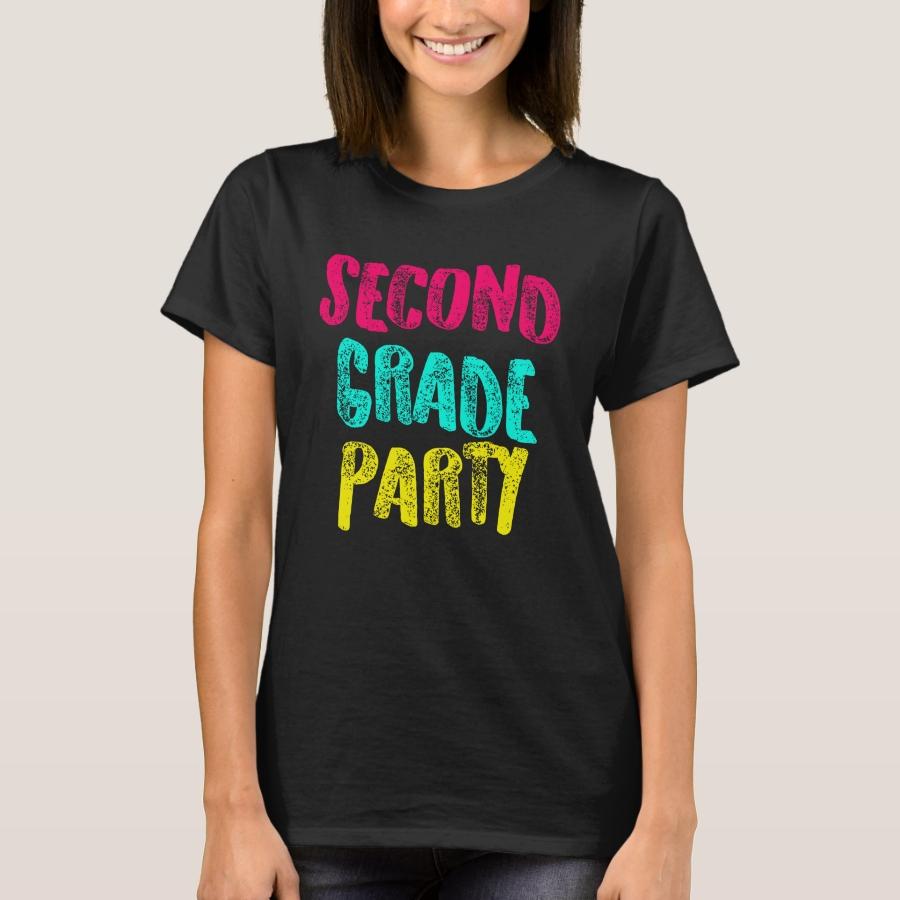 Second Grade Design Second Grade Party  Light T-Shirt - Best Selling Long-Sleeve Street Fashion Shirt Designs