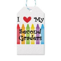 second grade teacher2 gift tags