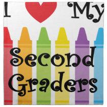 second grade teacher2 napkin