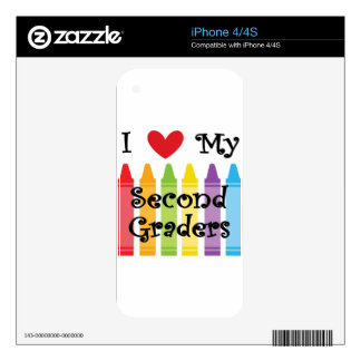 second grade teacher2 skins for the iPhone 4S
