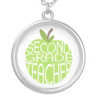 Second Grade Teacher Necklace