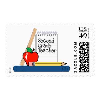 Second Grade Teacher (Notebook) Stamps