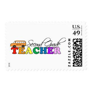 Second Grade Teacher Postage