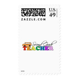 Second Grade Teacher Postage Stamp