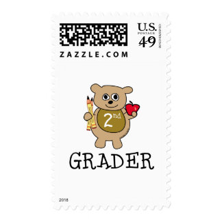 Second Grader Stamps