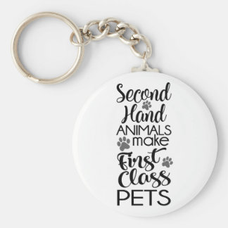 Second Hand Animals Keychain