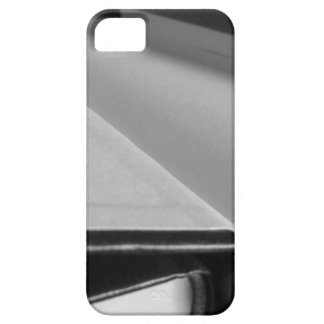Second hand books with blank pages on a table iPhone SE/5/5s case