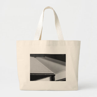 Second Hand Books With Blank Pages On A Table Large Tote Bag