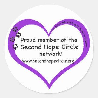 Second Hope Circle Sticker