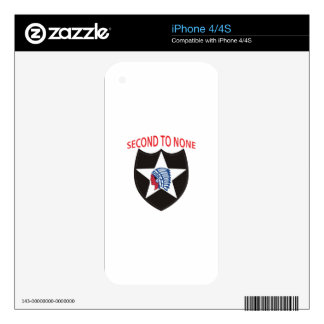 SECOND ID SECOND TO NONE SKINS FOR THE iPhone 4