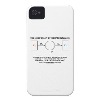 Second Law Of Thermodynamics Isolated System iPhone 4 Case-Mate Case