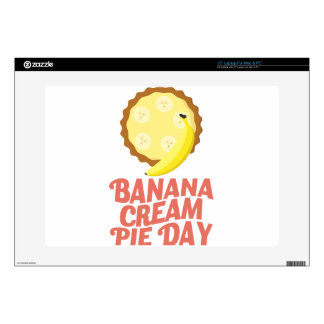 Second March - Banana Cream Pie Day Laptop Skins