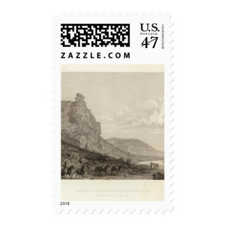 Second or Sheeprock Canyon of Weber River Postage Stamp